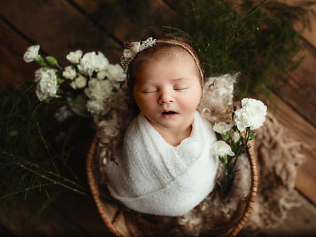 Newborn Baby Girl | Saint Joseph, MO