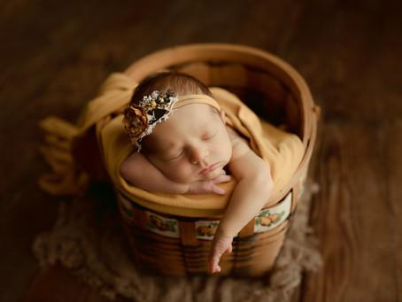 Fall Newborn Session - Saint Joseph, Missouri