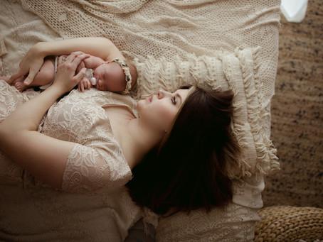 Baby Girl, Newborn Session | Saint Joseph, Mo
