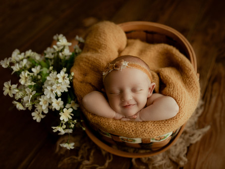 Fall Colors Newborn Session | St. Joseph, MO