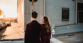 Engagement Session - Downtown St. Joseph, MO