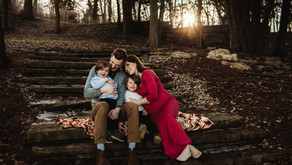 Early Spring Maternity/Family Session | St. Joseph, MO