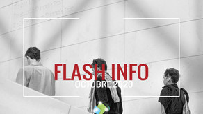 Flash info : Octobre 2020