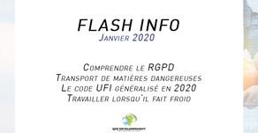 Flash info : Janvier 2019