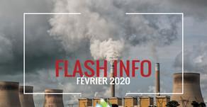 Flash info : Février 2020