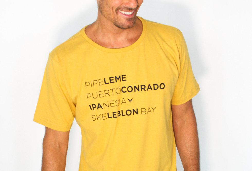 T-Shirt Skeleblon Amarela