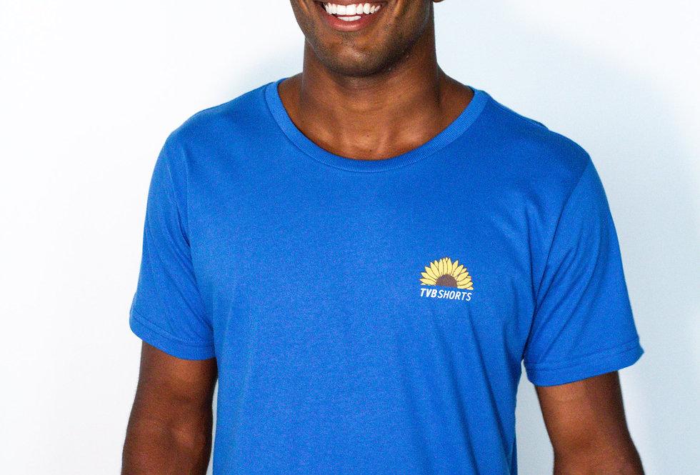 T-Shirt Sol Gira Gira Azul