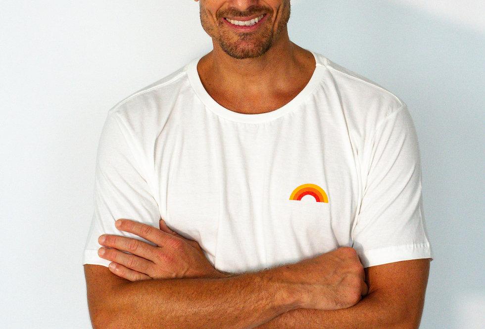 T-Shirt Sunset Branca
