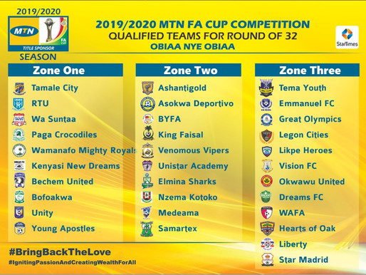 FC SAMARTEX QUALIFIES FOR MTN FA CUP ROUND OF 32
