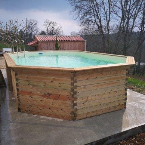 piscine bois Bell'eau Piscines Perigueux Dordogne