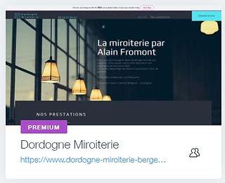 Dordogne Miroiterie  Miroiterieà Creysse -Bergerac  www.dordogne-miroiterie.com agence creation site internet vitrine dordogne agence web bordeaux