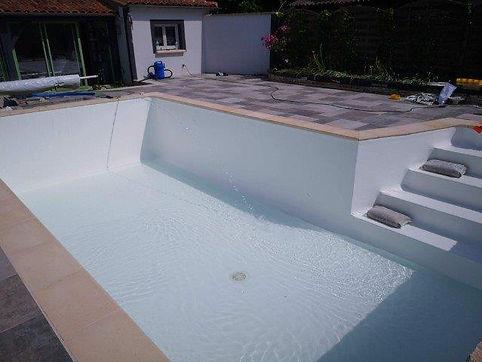 Changement de liner de piscine a perigueux dordogne et renovation de toute piscine
