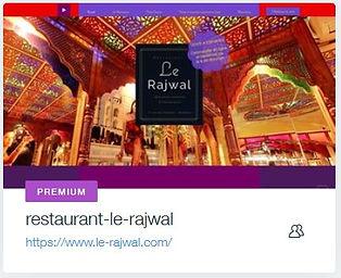 Restaurant Le Rajwal  Restaurant indien à Bordeaux  www.le-rajwal.com site internet pour restaurant avec commande en ligne creation site internet bordeaux
