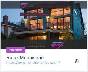 Rioux Menuiseries  Menuiserie à Tulle  www.menuiserie-rioux.com