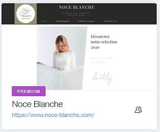 creation site internet site vitrine bordeaux et creation site internet libourne Noce Blanche  Robe de mariée à Bordeaux  www.noce-blanche.com