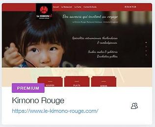 Restaurant Le Kimono Rouge  Restaurant asiatique & sushis à Ambarès - 33  www.le-kimono-rouge.com creation site internet ambares et lagrave bordeaux restaurant avec vente a emporter bordeaux