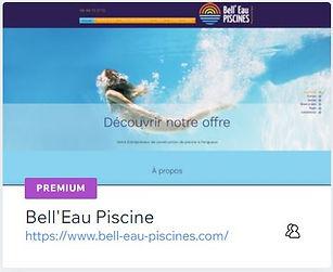 Bell'Eau Piscines  Construction de Piscine à Razac - Périgueux  www.bell-eau-piscines.com