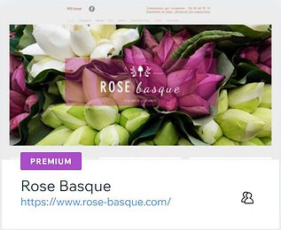 Rose Basque  Fleuriste à Ustaritz  www.rose-basque.com