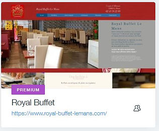 Restaurant Royal Buffet Le Mans  Restaurant Asiatique le Mans  www.royal-buffet-lemans.com creation site internet pour restaurant bordeaux et le mans