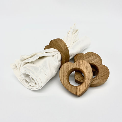Heart Napkin Rings