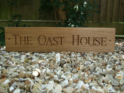 oak house sign