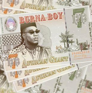 Burna Boy - African Giant LP (Mixer)