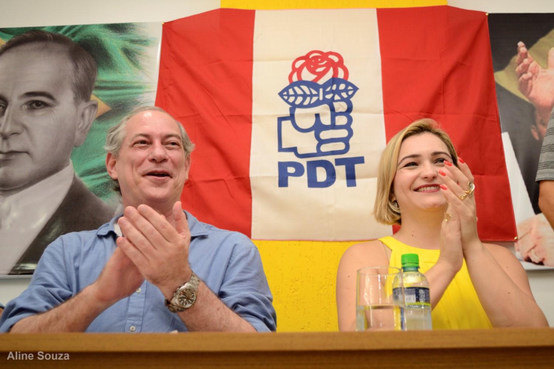 Ciro Gomes e Livia de Chiquinho