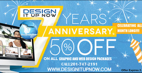 Design It Up Now 7 Year Anniversary