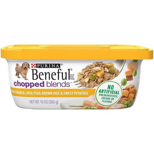 Beneful Chopped Blends - Chicken, liver, peas