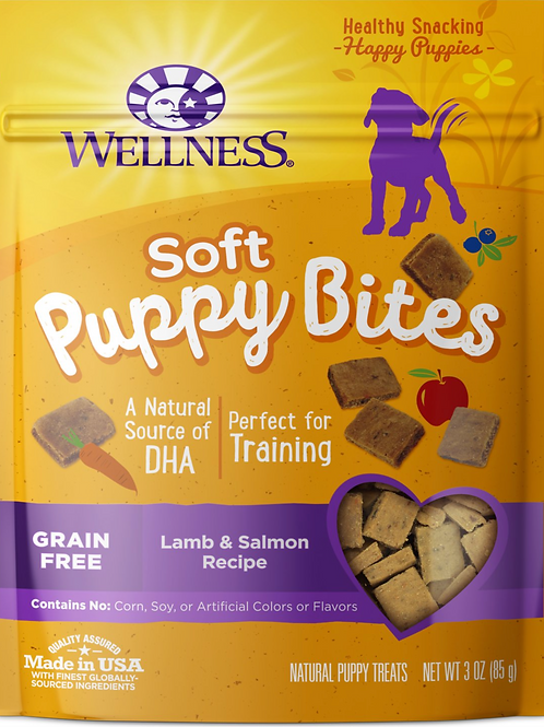 Wellness soft puppy bites - Lamb & Salmon