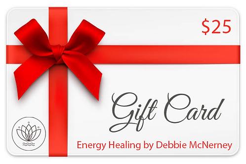 $25 Gift Card for Reiki Healing Website