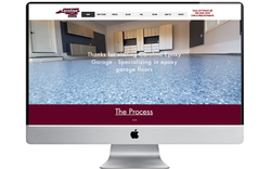Carolina Epoxy Garage website