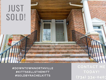 Contact me Today, Just Sold!