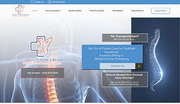 Spine City Medical Website.png