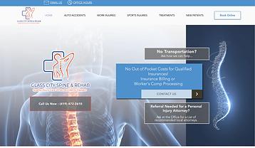 Spine City Medical Website.png