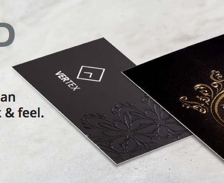 Introducing Raised Print Business Cards