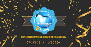 Design It Up Now 8 Years Anniversary