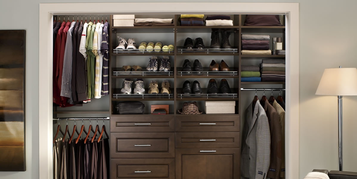 Wood-closet-organizers