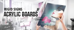Rigid Signs Acrylic Boards