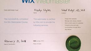 WIX WEBMASTER