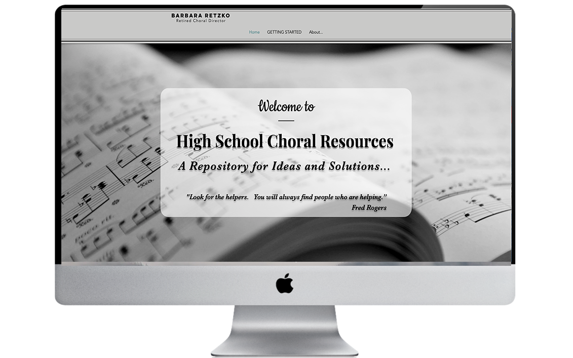 High School Choral Resources