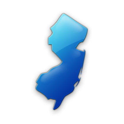 Map of NJ