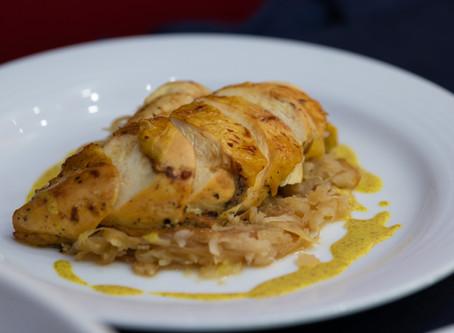 Desayuno y demostración: pollo y huevo, Guadalajara
