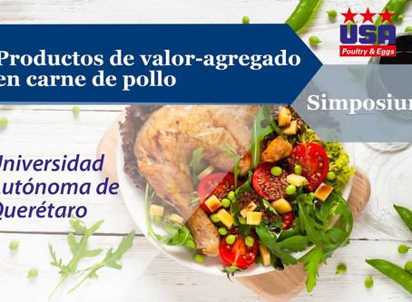 Productos de valor-agregado en carne de pollo
