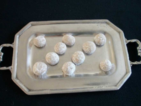 Bolitas de nuez azucaradas