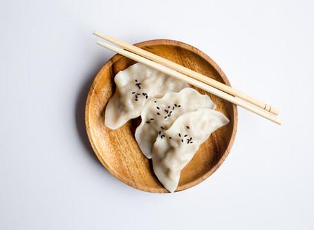 Dumplings de pato