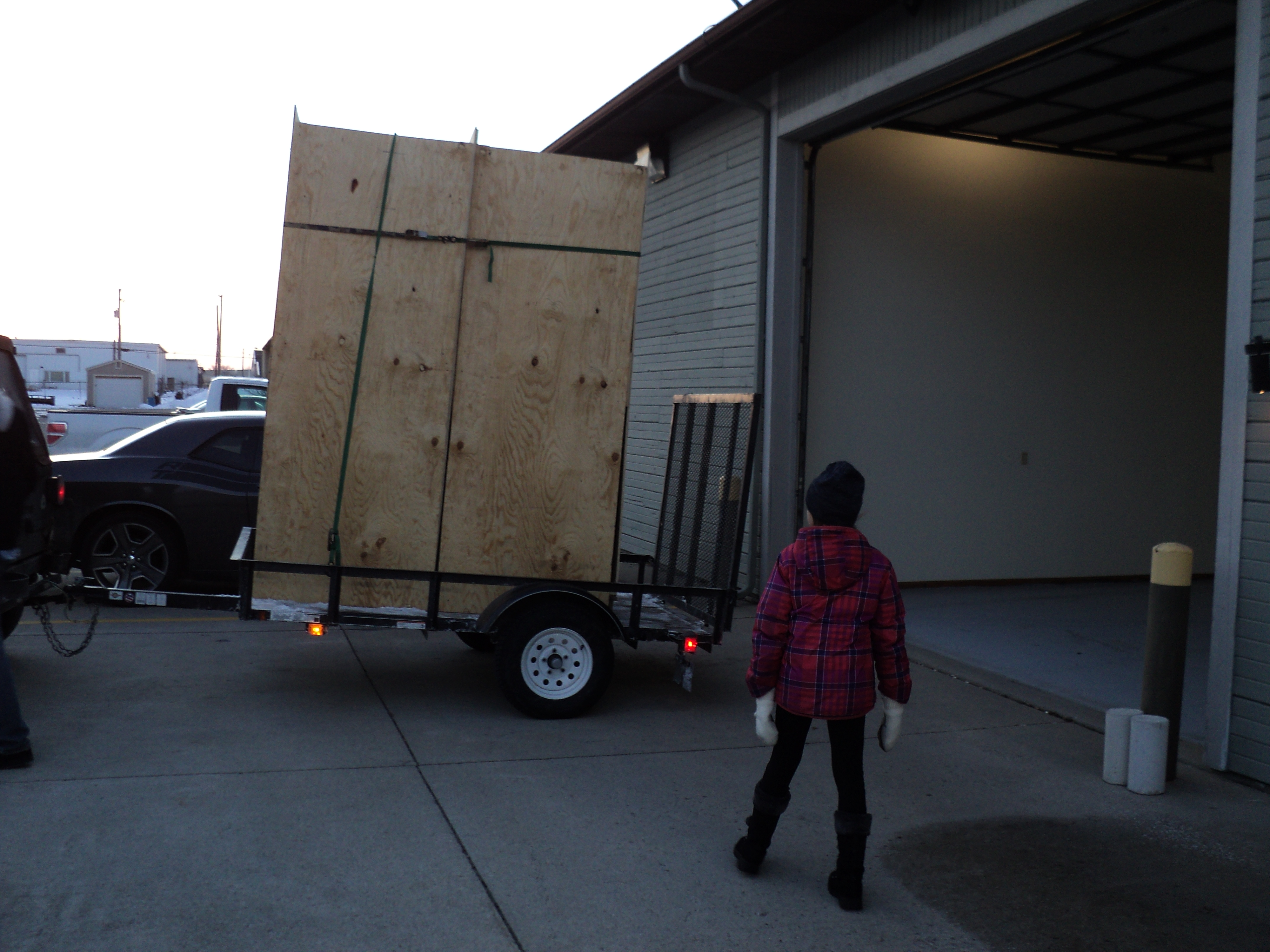 two new fermentors coming in