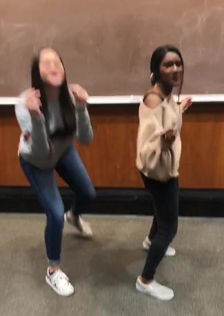 Sandy and Liv Dance.MOV