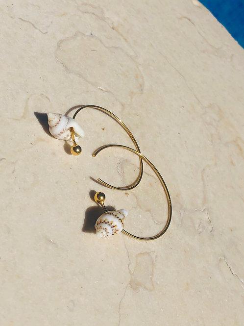 Olivia Golden Earrings