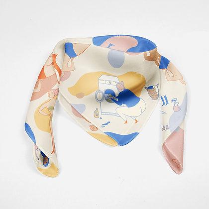 Tørklæde -Multi
